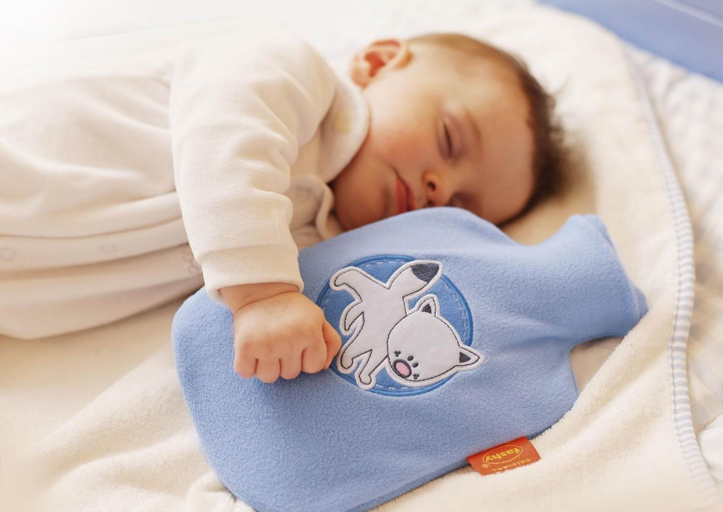 Грелка для новорожденного от коликов своими руками 47