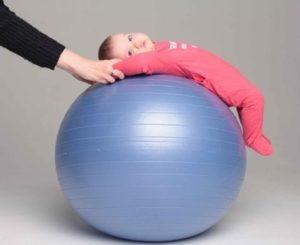 фитбол для грудничков