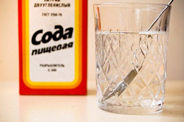 лечение молочницы во рту у грудничка пищевой содой