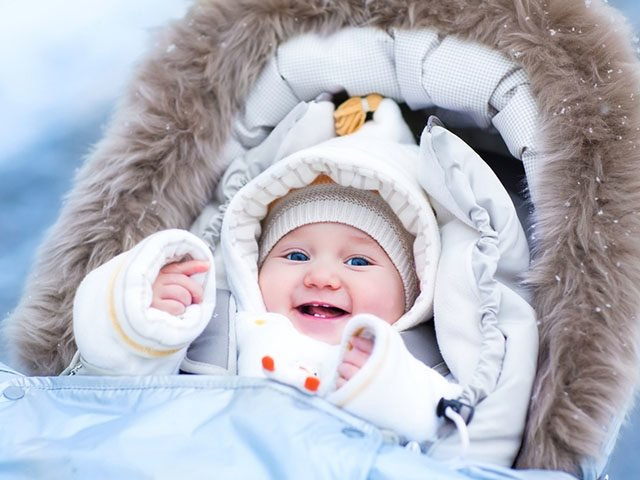 Список вещей для новорожденного зимой для прогулок и выписки из роддома