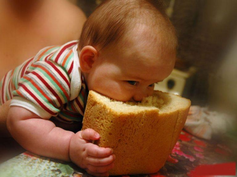 хлеб грудничку