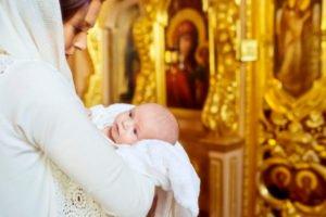 крещение новорожденного