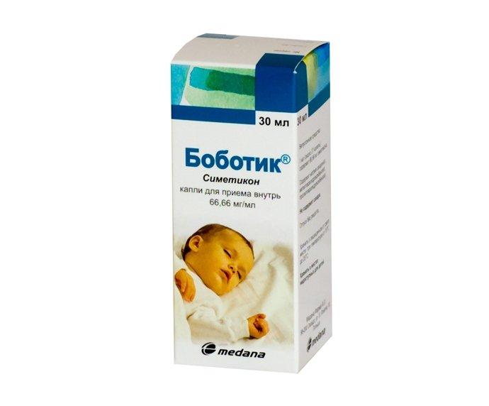 Капли «Боботик» от метеоризма: правила использования препарата для младенцев