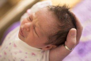 волосы на голове у новорожденных