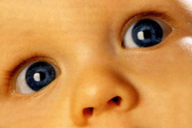 зрачки ребенка