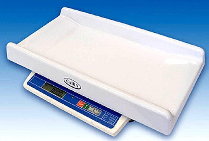 медицинские весы для новорожденных