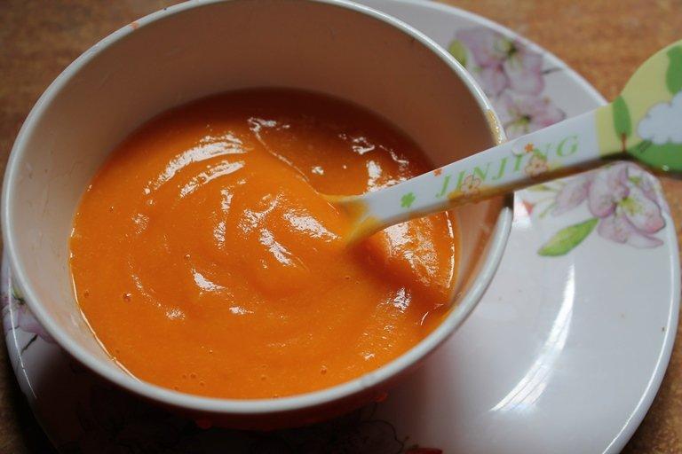морковь для грудничка