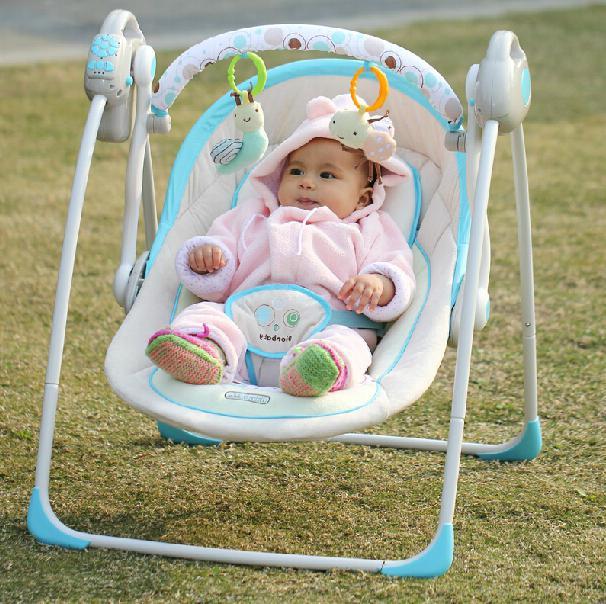 переносной шезлонг для новорожденных