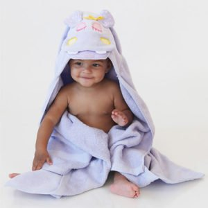 полотенце с уголком для новорожденных