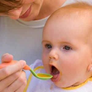 первый прикорм малыша: когда начинать