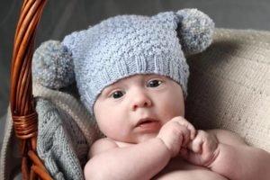 шапочка для новорожденного своими руками