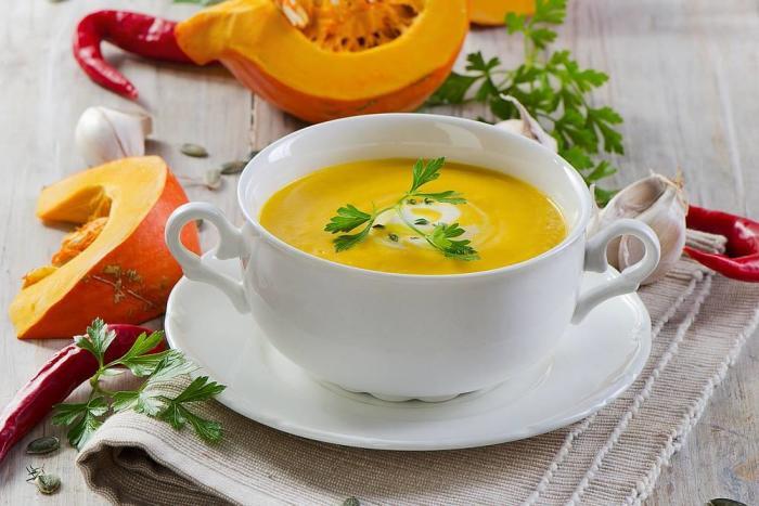 тыквенный суп для грудничка: прикорм