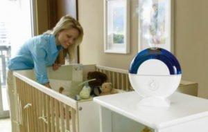 увлажнительно воздуха для новорожденного