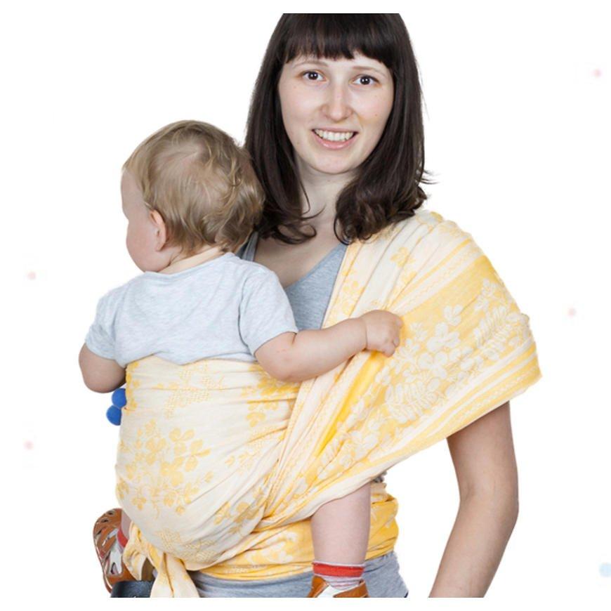 слинг-шарф правила намотки