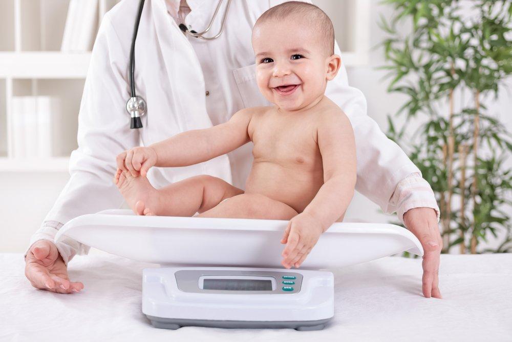 рост и вес ребенка в 10 месяцев