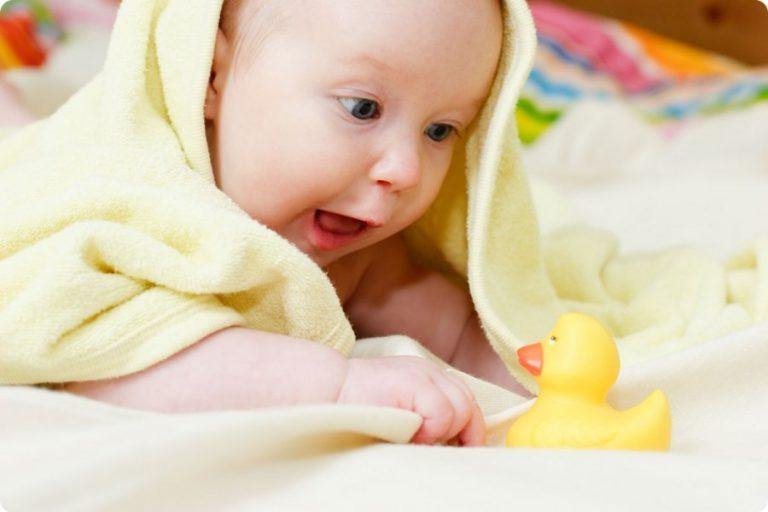 Особенности развития четырехмесячного малыша