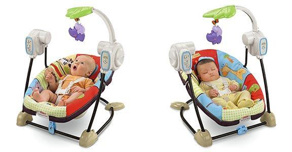 электрокачели для новорожденных преимущества