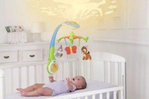 мобиль на кроватку новорожденному