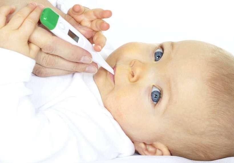 оральный способ измерения температуры новорожденному