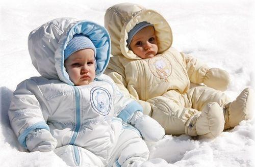как одевать грудничка зимой