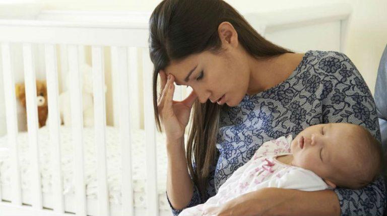 послеродовая депрессия: что делать
