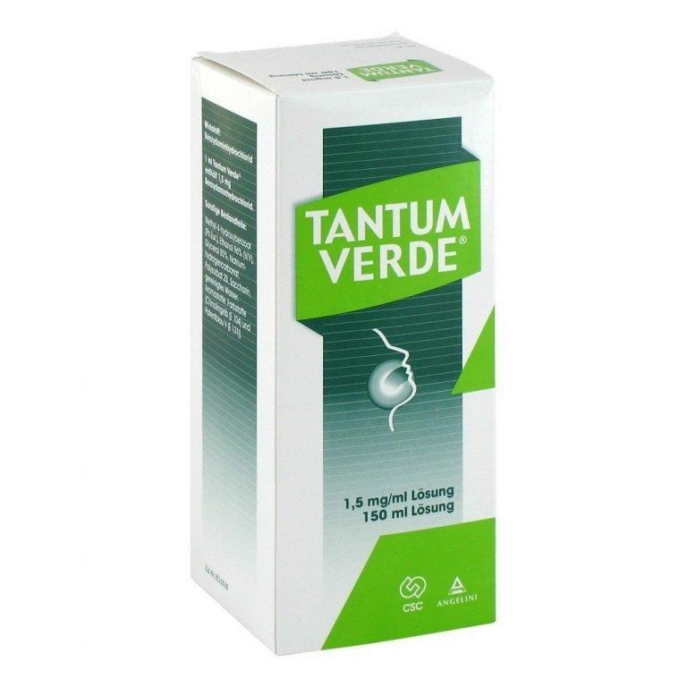 тантум верде - помощь при простуде кормящей маме