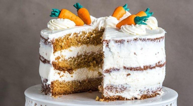 разрешенные сладости при гв - морковный торт