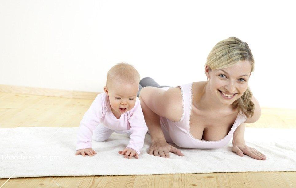 какие упражнения разрешены после родов