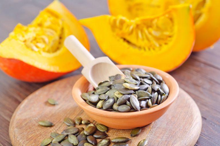 польза тыквенных семечек при гв